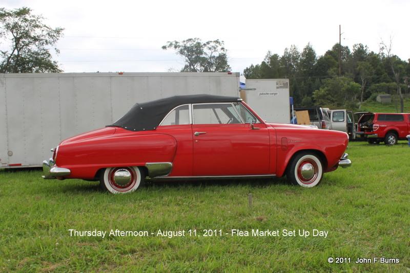 1950 Studebaker Champion Convertible