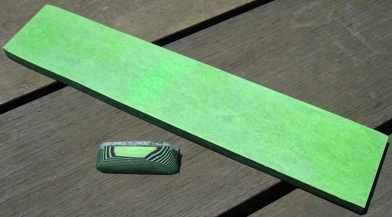 #36  UV Reactive Green & Black Paper