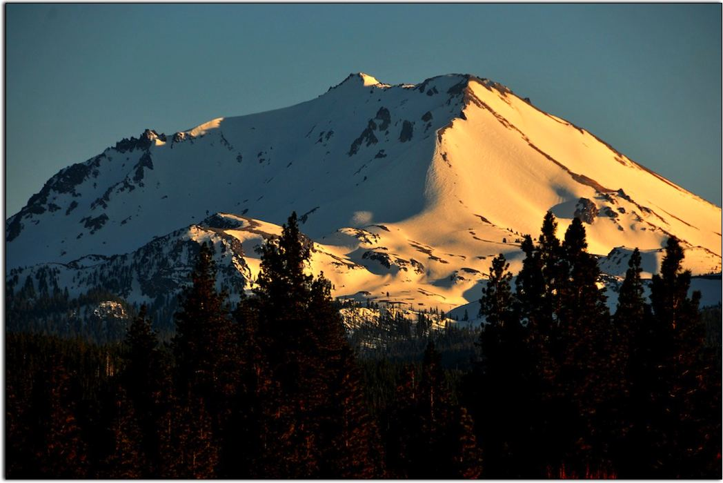 VIew of Lassen Peak from the North