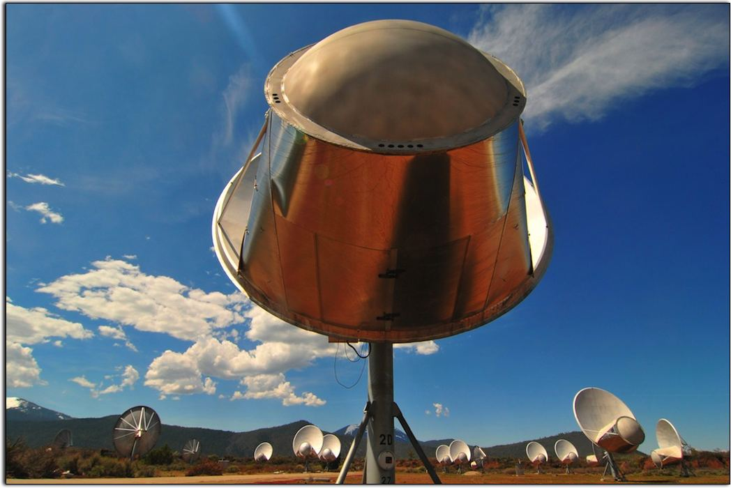 Radio Telescopes at Hat Creek