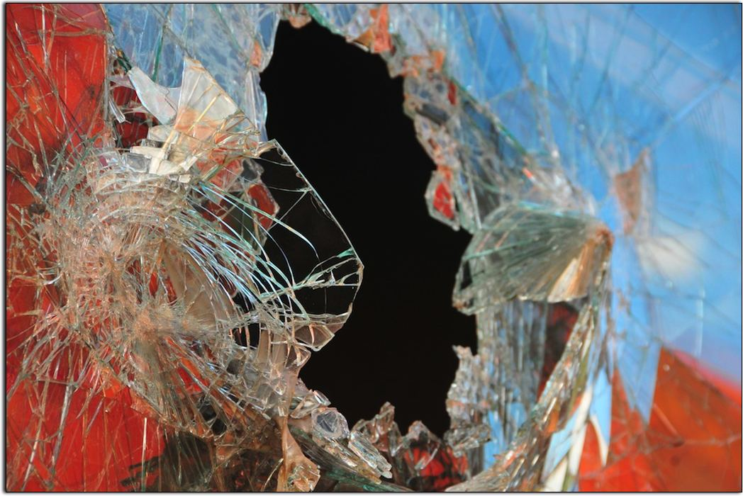 Broken Glass, McCloud Rail Yard
