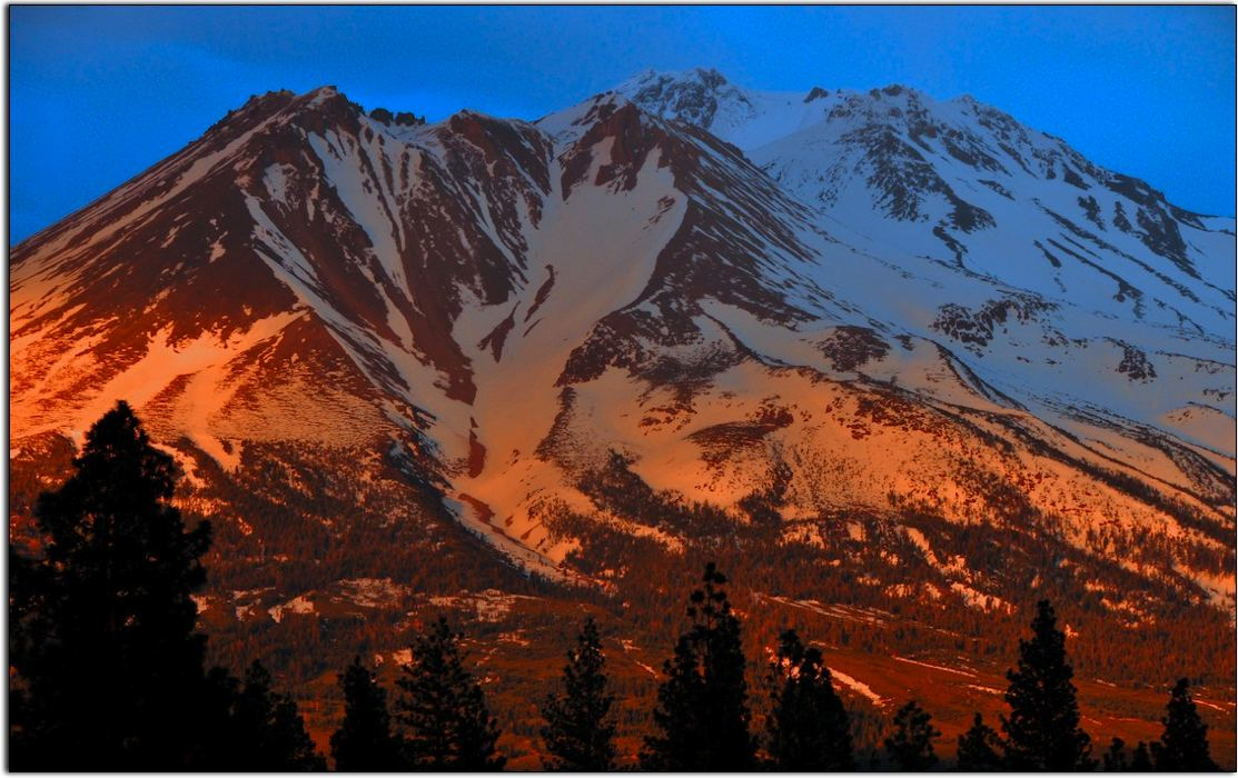 Fire and Ice: Mount Shasta
