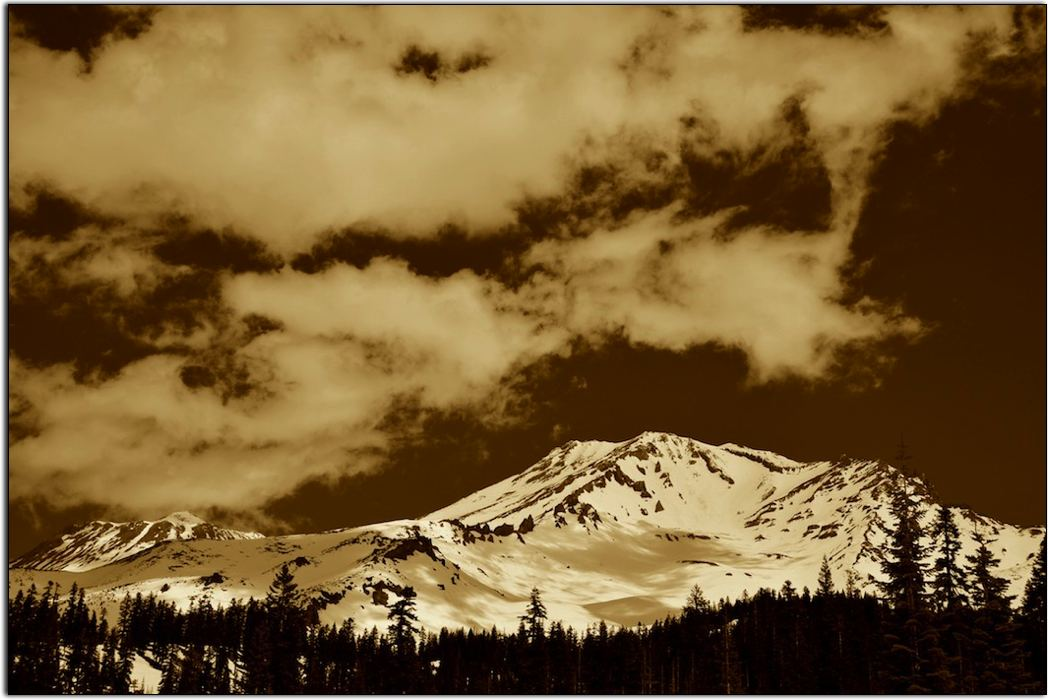 Mount Shasta Morning, from the South