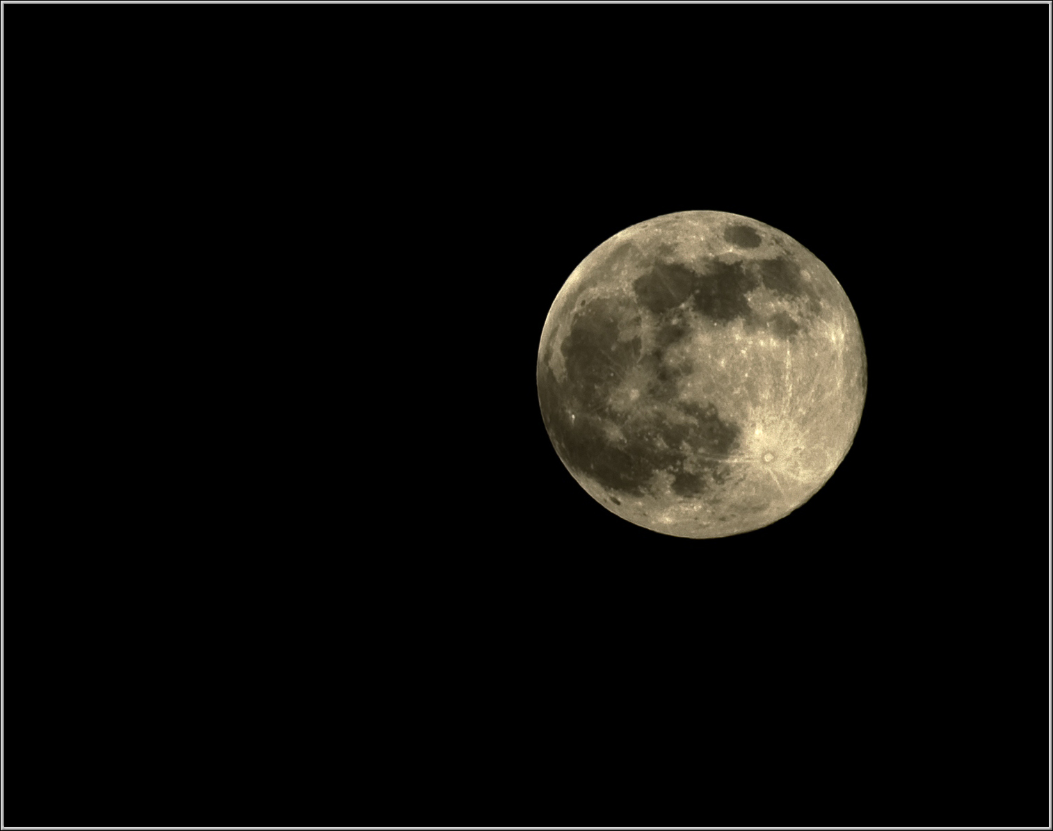 The moon.. as of  today.