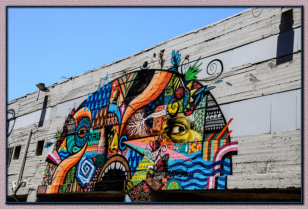 Graffiti - old Jaffa