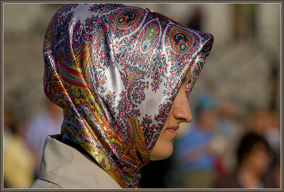A lady from Istanbul