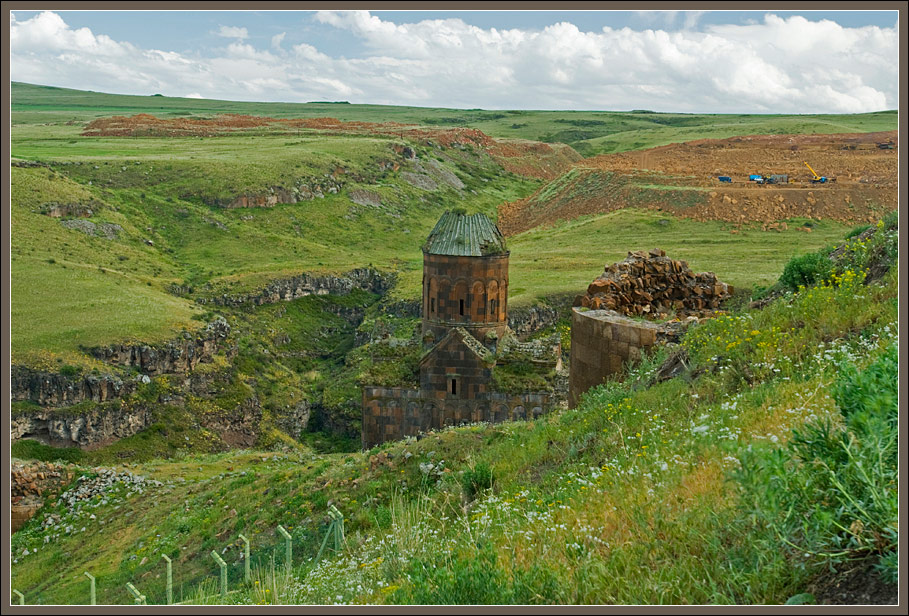 Ani ruins area