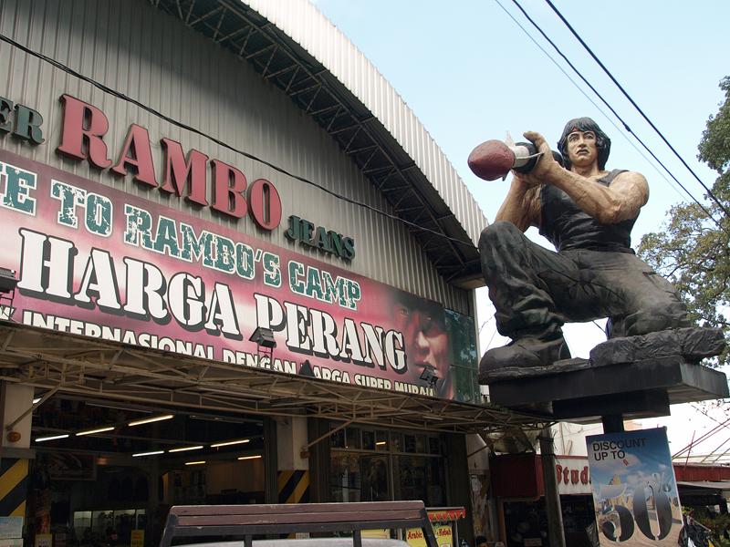 019 - Bandung, Jeans Street