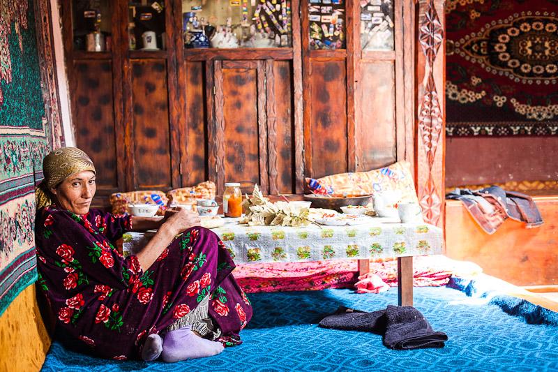 Pamiri woman - Namadgut