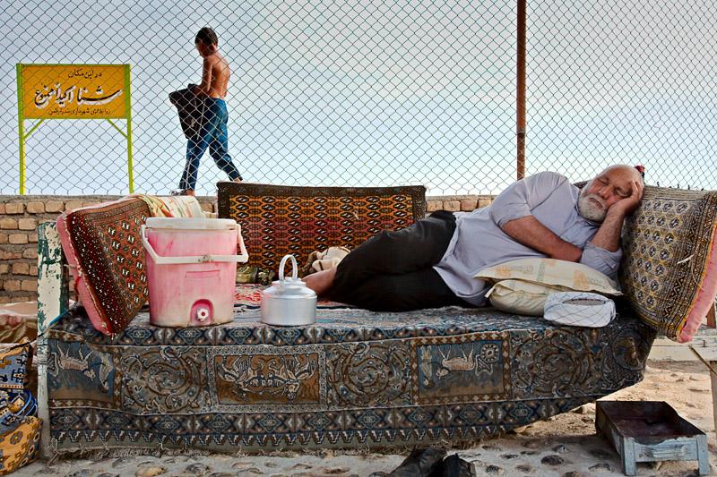 Taking a nap - Bandar Torkaman