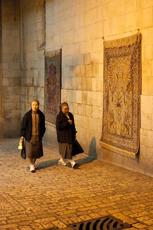 Two Nuns - Jerusalem