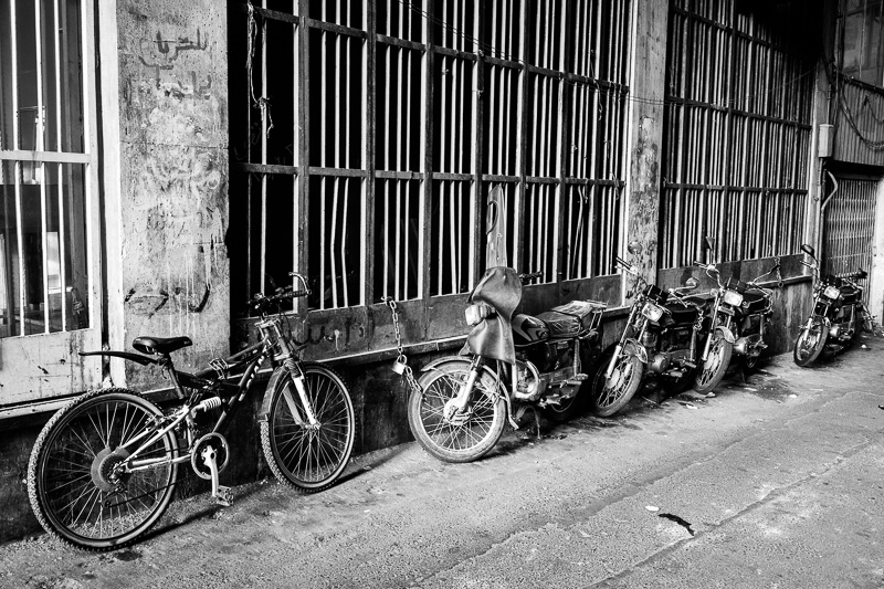 Two wheels - Tehran