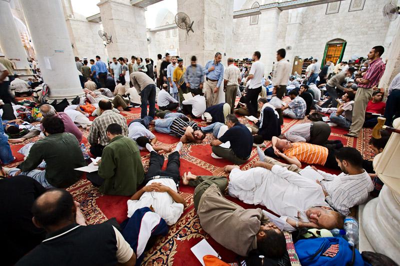 Laylat Al Qadr prayers - Al Aqsa Mosque, Jerusalem