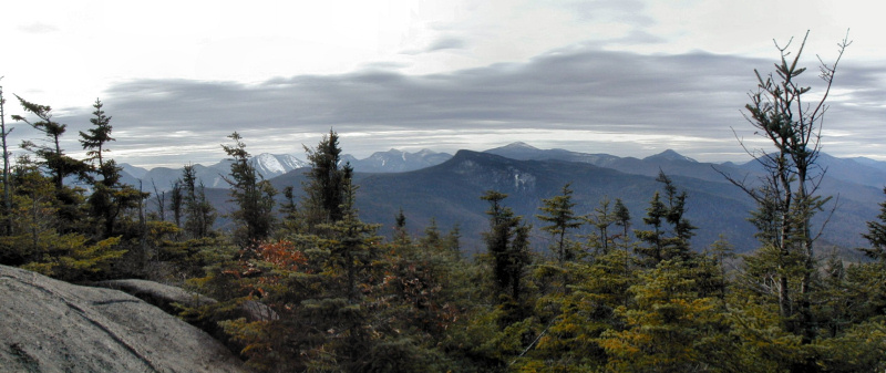 Adirondack High Peaks from Porter Mountain