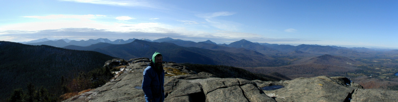 Adirondack High Peaks from Cascade Mountain