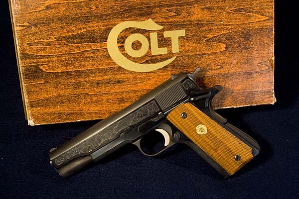 Colt .45 Caliber Government Model MSP Commemorative