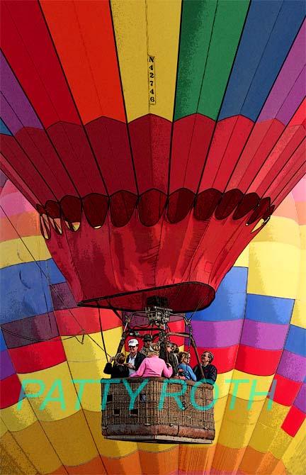 Hot Air Balloon, Del Mar, CA