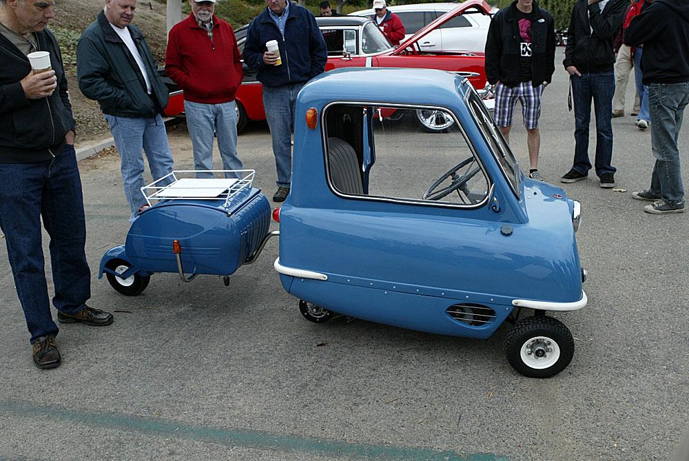 Peel P50 replica with trailer