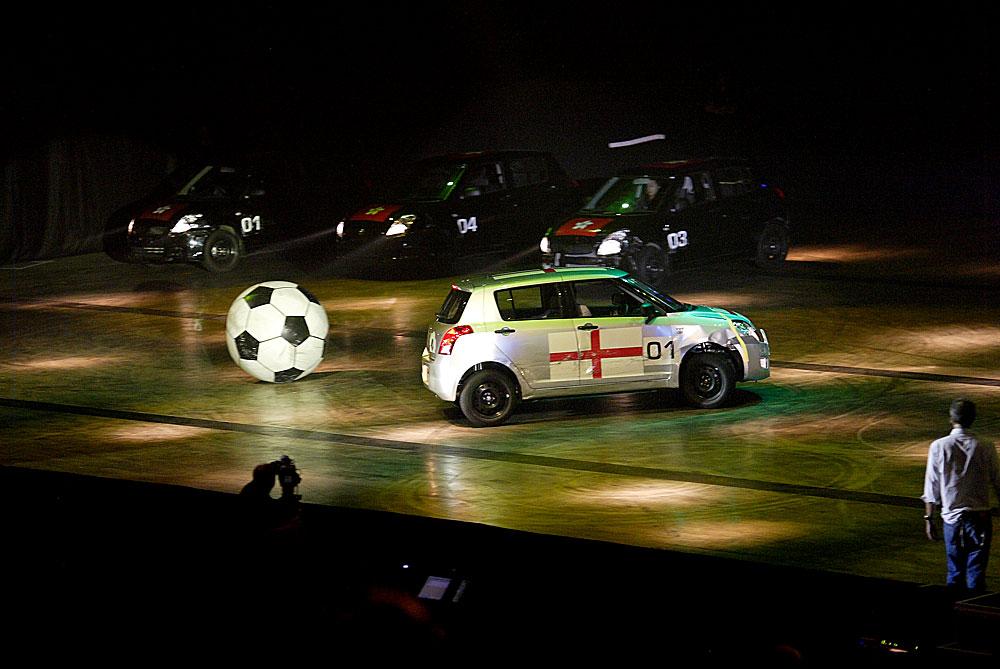 Suzuki Swift soccer