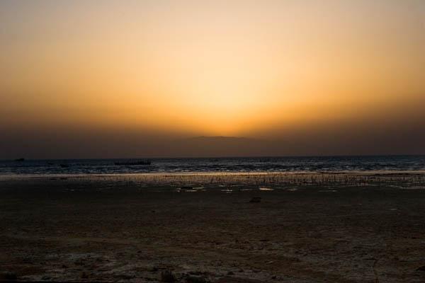 Sunset in Qeshm Island
