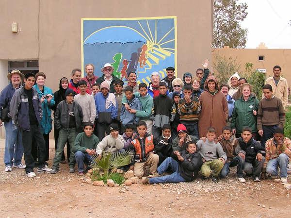 More School children at Tinerhir