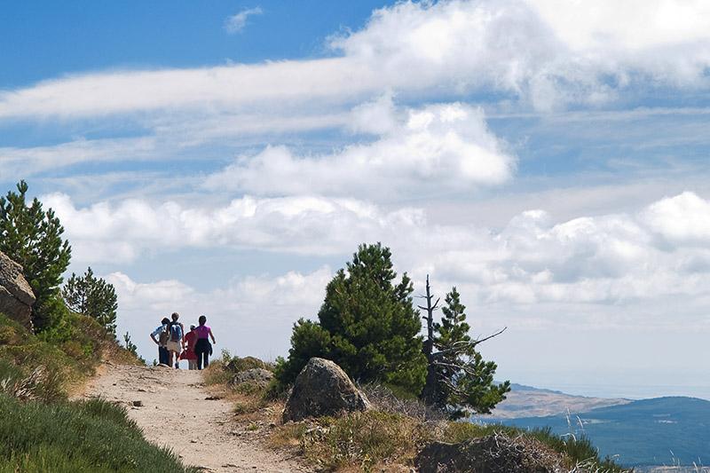 Caminantes en la ruta / Walkers in the route