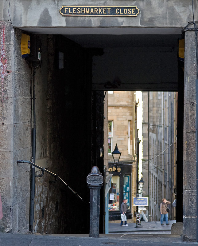 Edinburgh<br>Fleshmarket Close