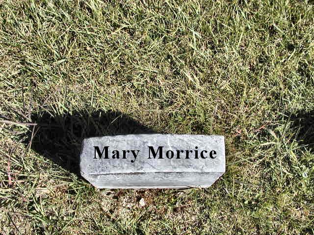 Morrice, Mary Section 2 Row 5