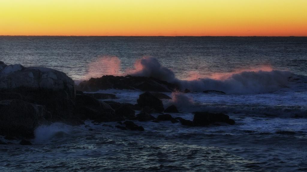 Sunrise  at York Maine.