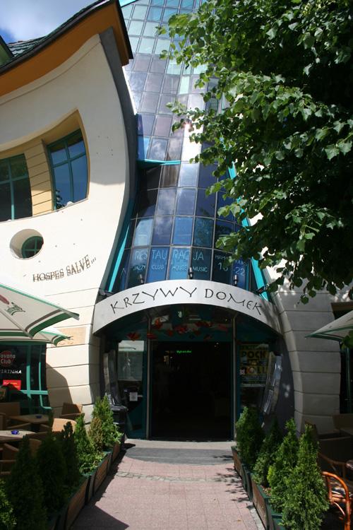 Krzywy Domek - Modern Architecture