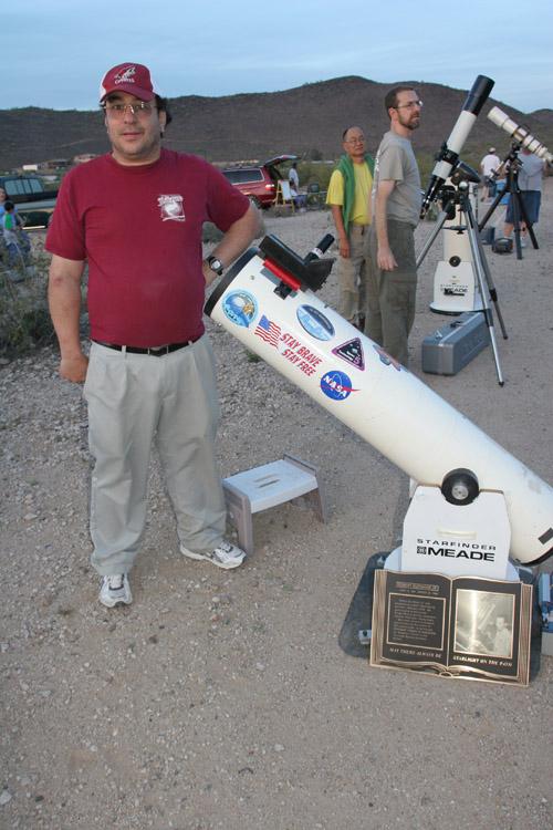 at SaguaroAstronomyClubs public Thunderbird Star Party--Rick Tejera and