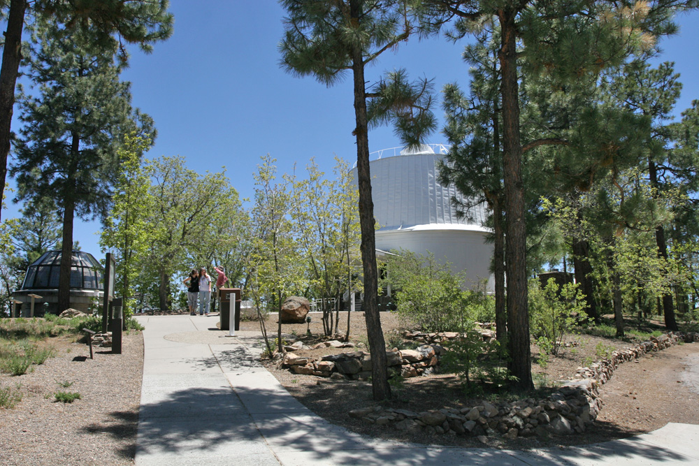Prospective memorial site on the Clark Scope path