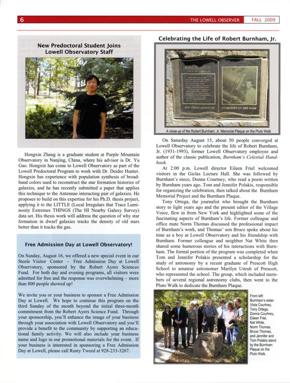 Lowell Observer Issue #84, Fall 2009
