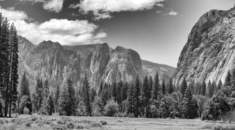 Yosemite Black n White 2012