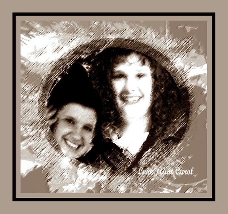 Sarah and Dawn Marie