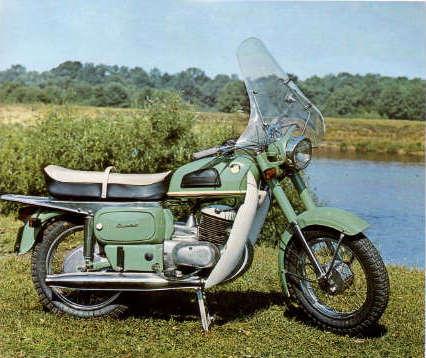 Cossack 175cc , 4/1975 --5/1977