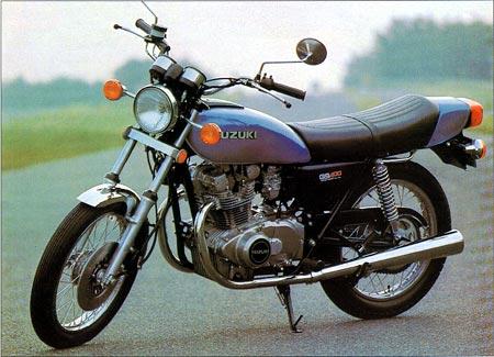 Suzuki-GS400C,9/1978 - 10/1980  Reg.No. WSP 660T