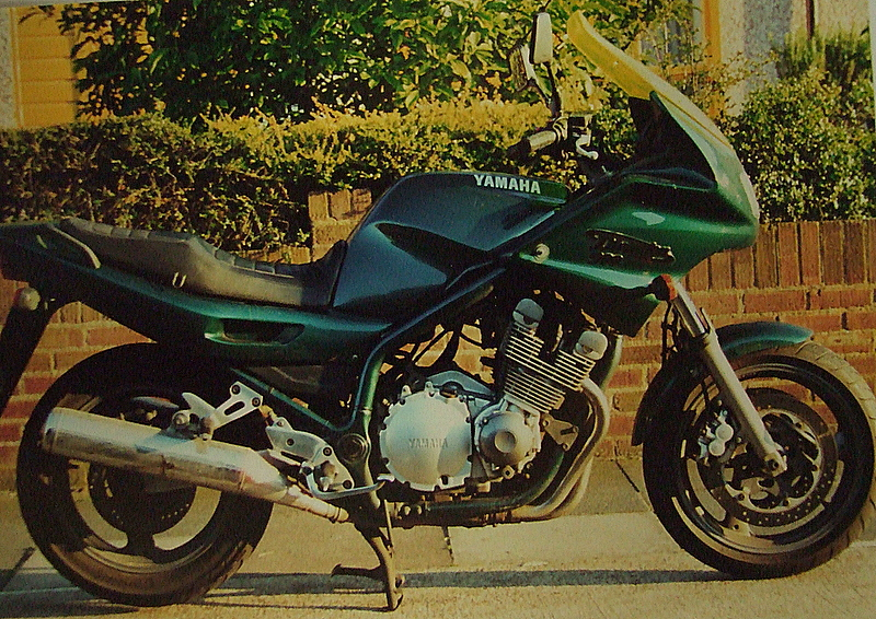 Yamaha XJ900S Diversion,reg.no. P447 SEV