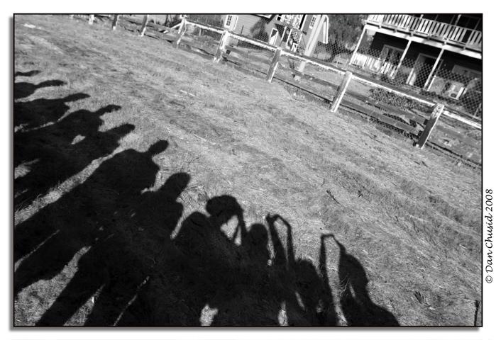 Farmhouse Shadows