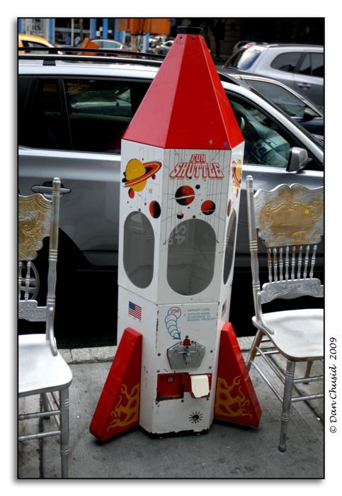 Sidewalk Spacecraft
