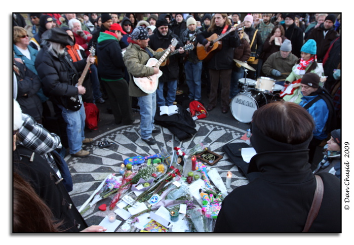 John Lennon Memorial Gathering @ Strawberry Fields