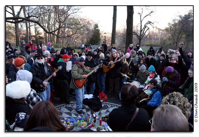 John Lennon Memorial Gathering @ Strawberry Fields