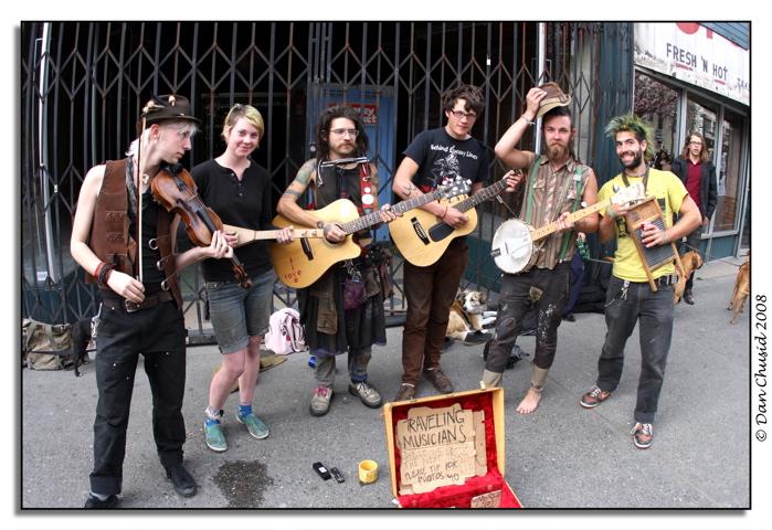 Traveling Musicians - Seattle, WA