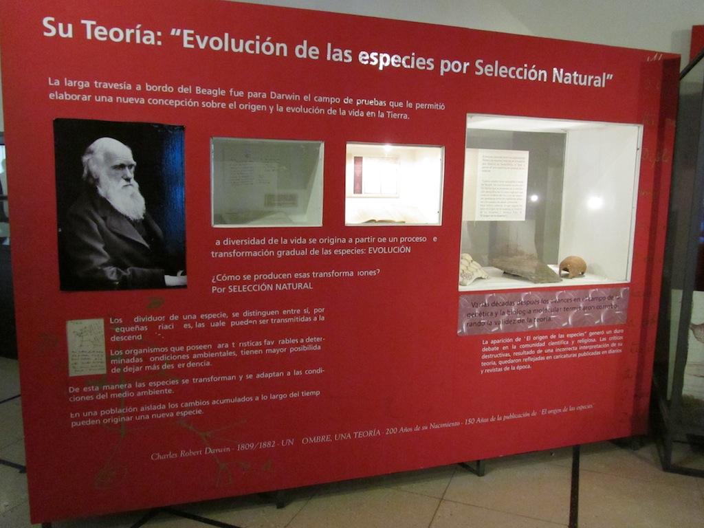 good info on Darwins Beagle voyage and work
