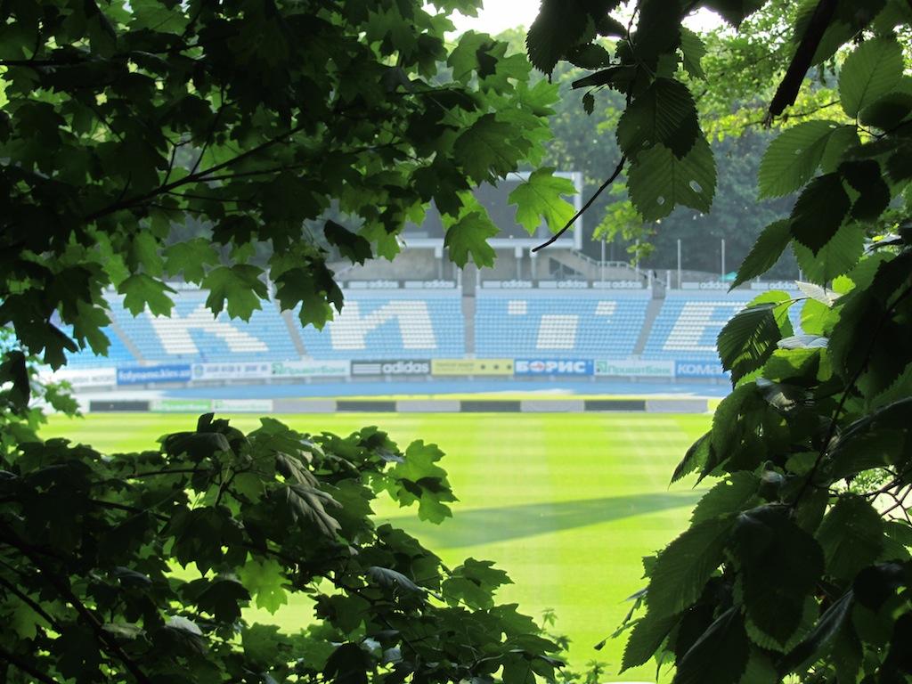 the Dynamo Kyiv stadium!
