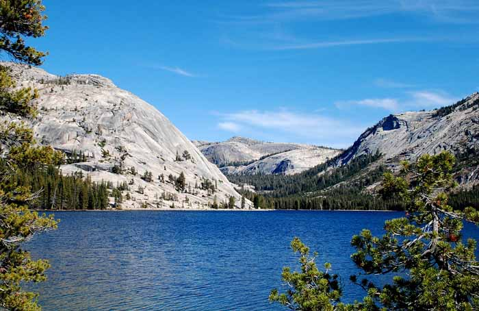 Lake Tenaya,Yosemite NP, at 9,000 ft elevation