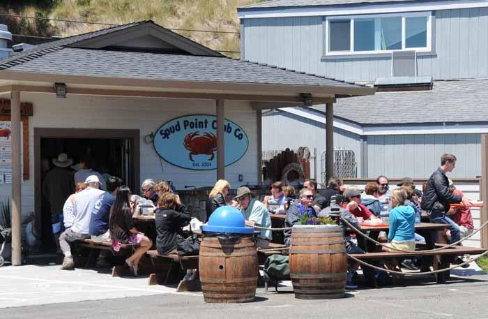 Bodega Bays hottest lunch spot