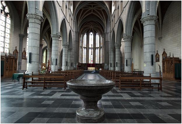 Kloosterkerk van de voormalige cisterciënzerabdij