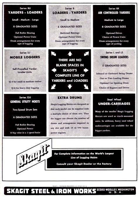1954 Skagit Ad