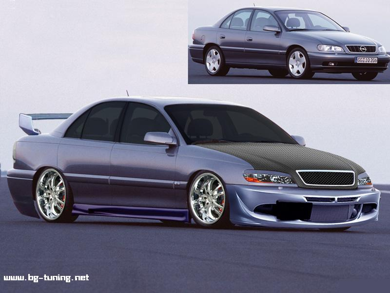 Virtual Tuning - opel omega 2L